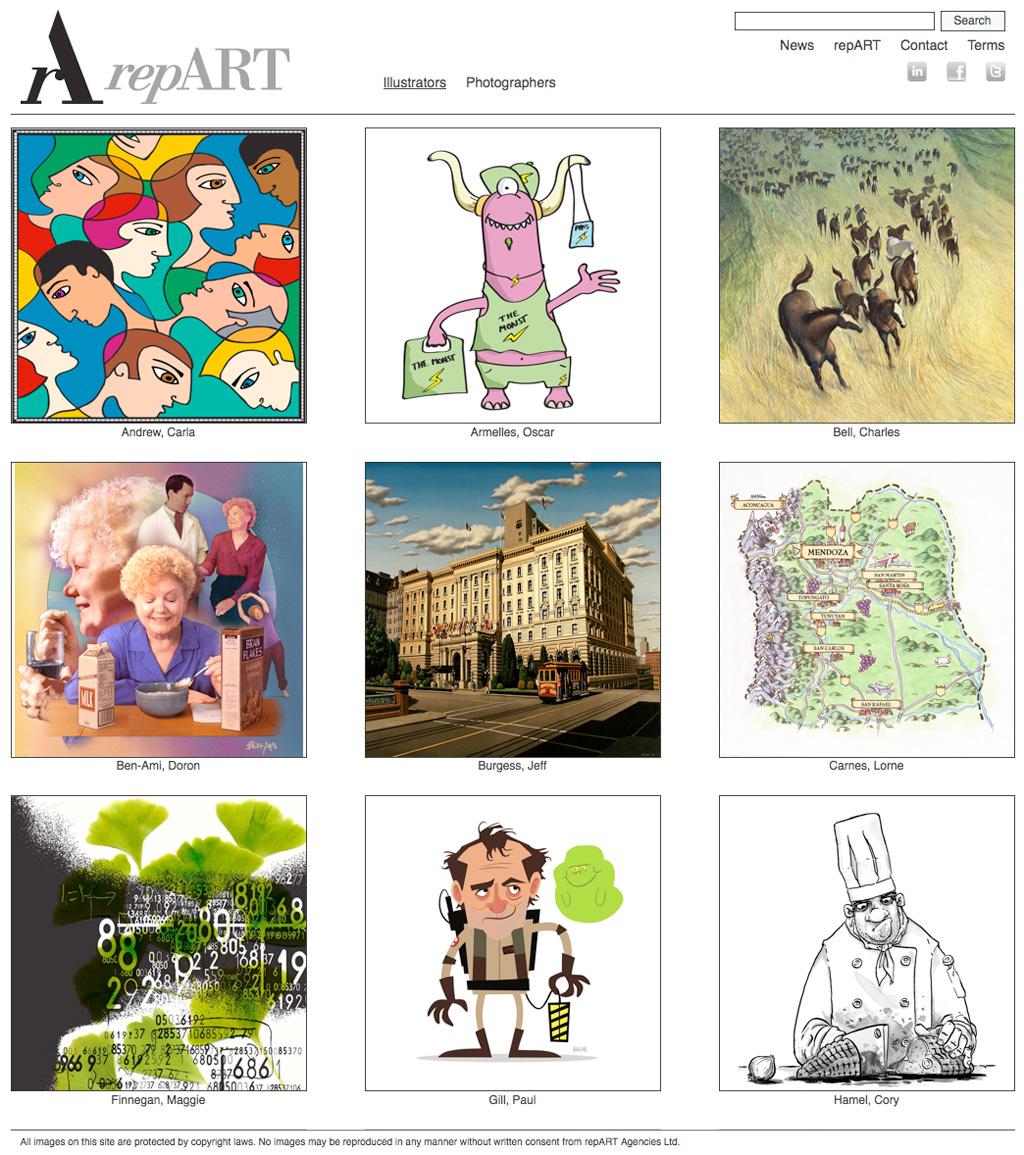 repART - Illustrators