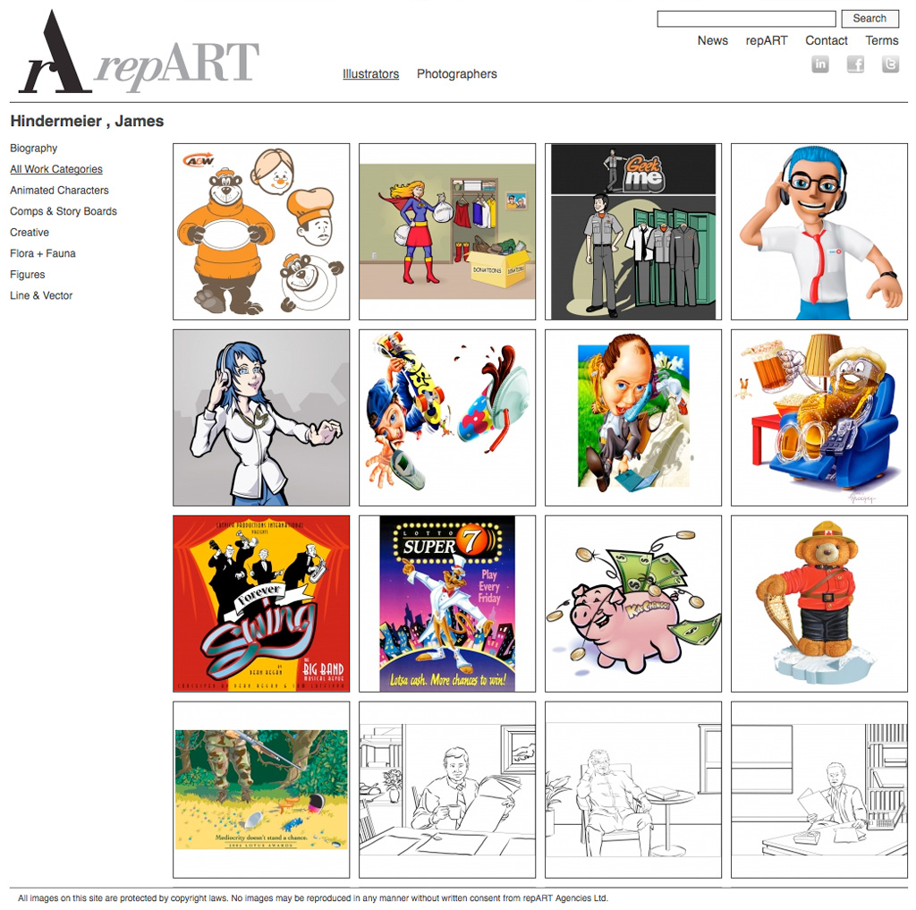 repART - Illustrators - Single Illustrator