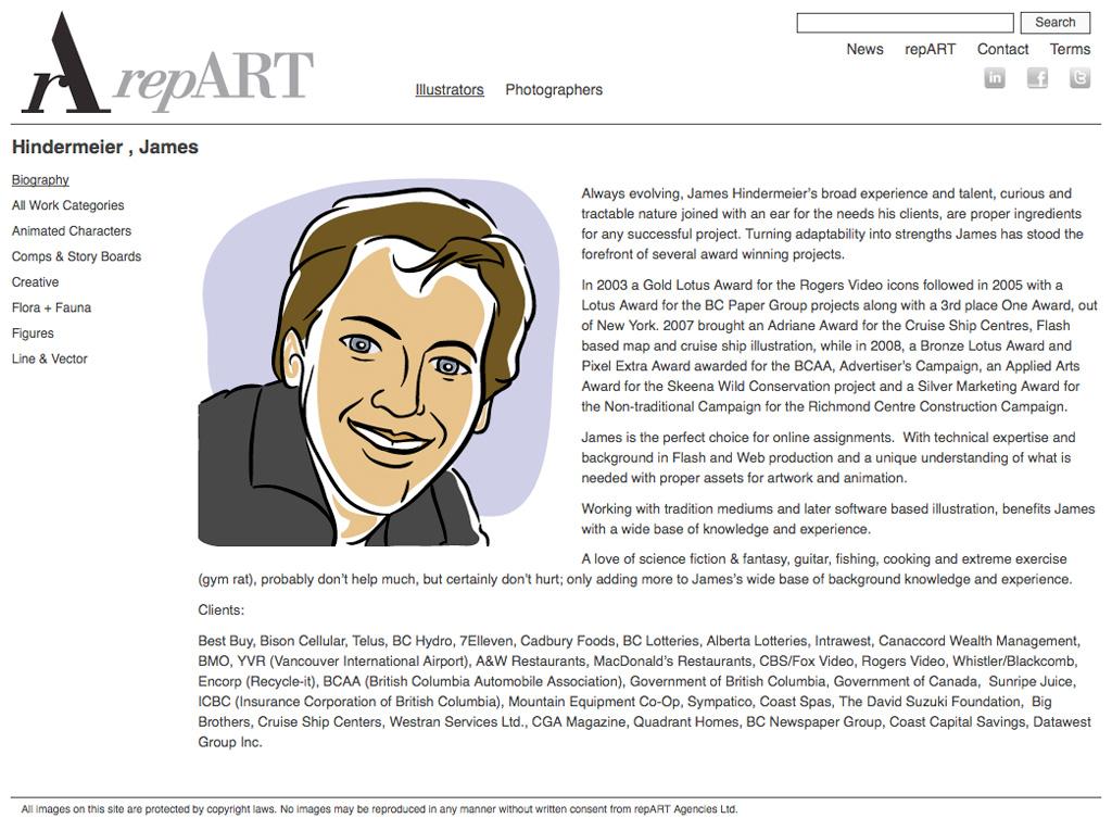 repART - Illustrators - Single Illustrator - Biography