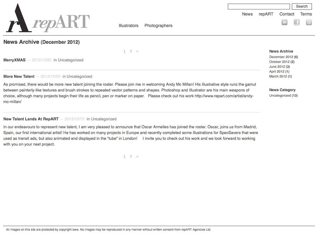 repART - News Archive