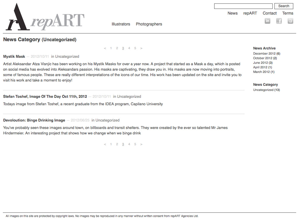 repART - News Category Archive